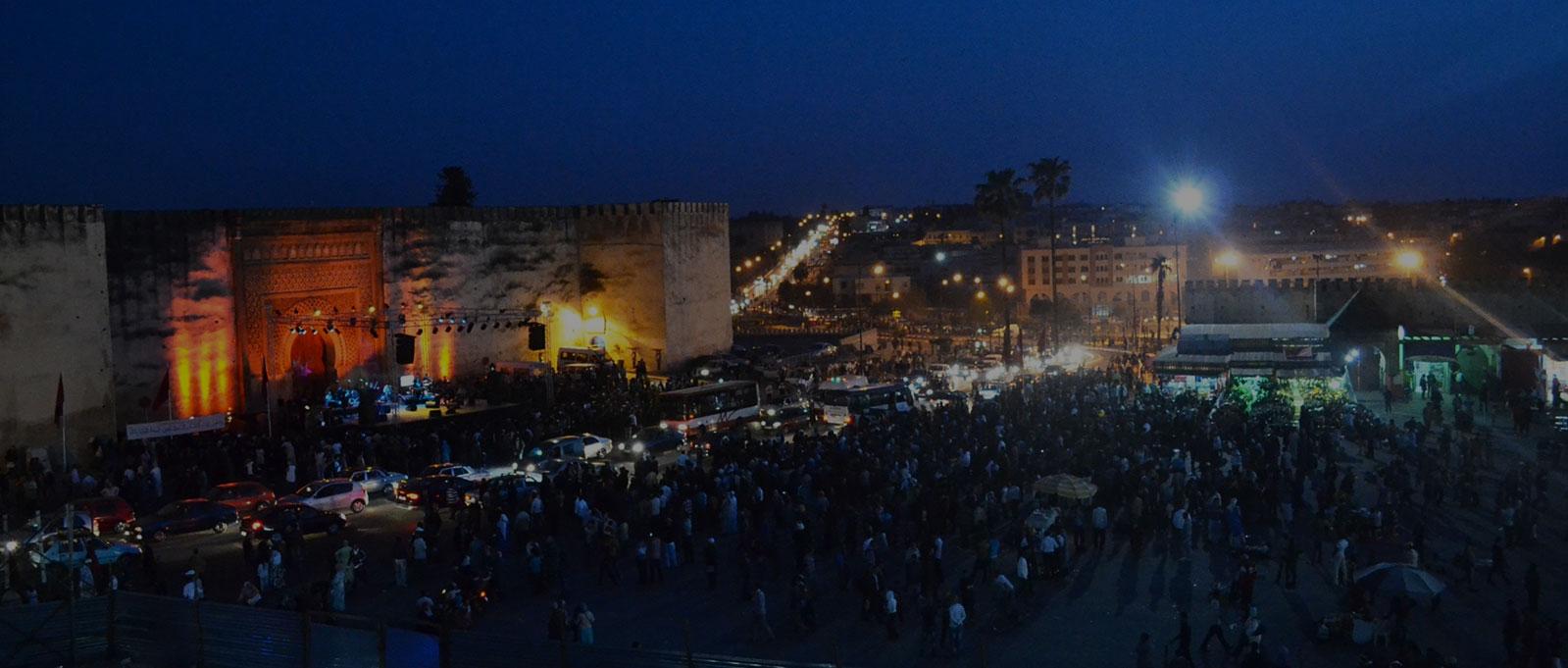Place Lahdim - Meknès Maroc